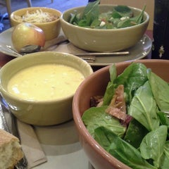 Photo taken at Panera Bread by Sapphire A. on 1/3/2013