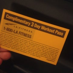 Photo taken at LA Fitness by Victoria M. on 7/17/2014