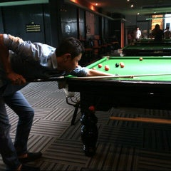 Photo taken at Mone Snooker by Khalifah Putra on 11/13/2012