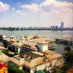 Photo taken at Sheraton Hanoi Hotel by Sebastian N. on 7/12/2015