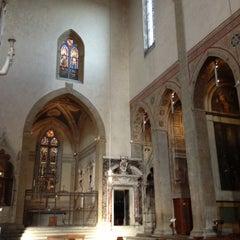 Photo taken at Basilica di Santa Croce by Christina B. on 10/20/2012