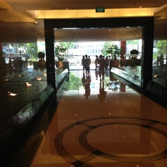 Photo taken at Marriott Singapore Tang Plaza by Christophe S. on 5/17/2013