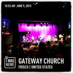 Photo taken at Gateway Church Frisco by Darren E. on 6/9/2013