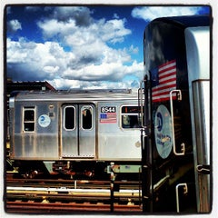 Photo taken at MTA Subway - Marcy Ave (J/M/Z) by Trevor L. on 3/26/2013
