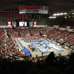 Photo taken at Stegeman Coliseum by Kenny G. on 2/2/2013