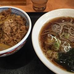 Photo taken at 吉野家 412号線厚木林店 by Masatoshi T. on 1/17/2016
