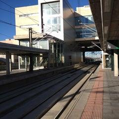 Photo taken at Estación de Segovia-Guiomar by Armando A. on 12/3/2012