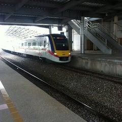 Photo taken at KTM Line - Bandar Tasik Selatan Station (KB04) by Amir D. on 1/7/2013