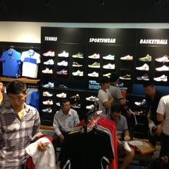 Photo taken at Nike Crescent Mall by Guru L. on 1/5/2013