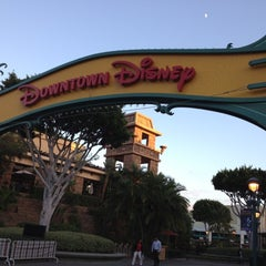 Photo taken at Downtown Disney District by Harry J. on 10/23/2012