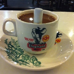 Photo taken at Elephant Bean Cafe by Ore T. on 9/30/2012