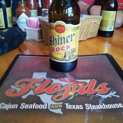 Photo taken at Floyds Cajun Seafood And Texas Steakhouse by August A. on 8/17/2013