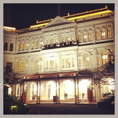 Photo taken at Raffles Hotel by Sergio V. on 2/17/2013
