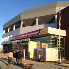 Photo taken at Wells Fargo Arena by Nick H. on 3/21/2013
