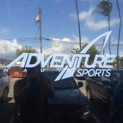Photo taken at Adventure Sports Maui by Dan L. on 5/15/2015