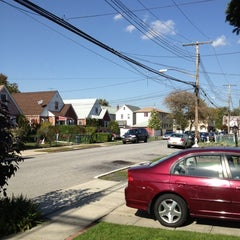 Photo taken at Cambria Heights, NY by John C. on 10/20/2012