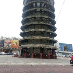 Photo taken at Menara Condong (Leaning Tower) by Saiful I. on 6/26/2013