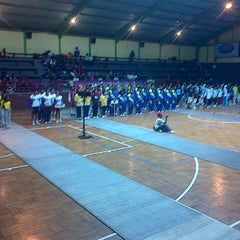 Photo taken at GOR Pajajaran by elsa n. on 6/1/2013