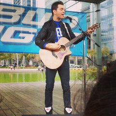Photo taken at Discovery Green by Tammie T. on 3/10/2013