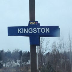 Photo taken at VIA Rail Kingston by Chris C. on 12/26/2012