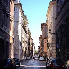 Photo taken at Via Giulia by Andrea P. on 8/30/2014