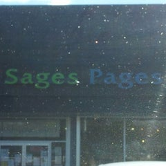 Photo taken at Sages Pages by Robert M. on 10/16/2012