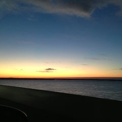 Photo taken at Broad River Bridge by Amy G. on 2/18/2013
