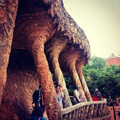 Photo taken at Park Güell by Juliano R. on 6/18/2013