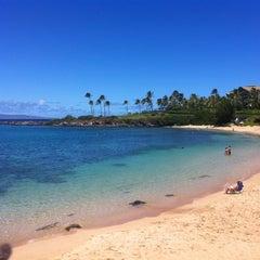 Photo taken at Kapalua Bay Beach by Michael S. on 9/16/2012