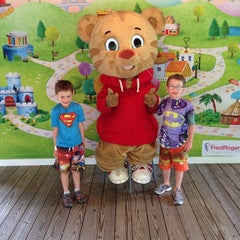 Photo taken at Mister Rogers' Neighborhood of Make-Believe @idlewildpark by Chuck M. on 8/13/2014