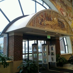 Photo taken at Clinton Macomb Public Library by Krysti M. on 11/1/2012