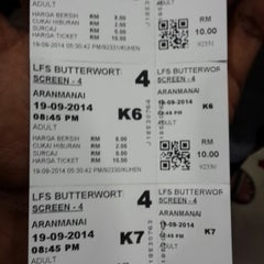 Photo taken at Lotus Five Star Cinemas (LFS) by Dujes on 9/19/2014