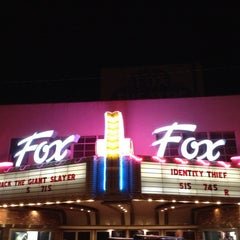 Photo taken at Taft Fox Theater by Todd L. on 3/3/2013