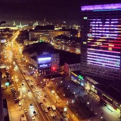 Photo taken at Новый Арбат / New Arbat Street by Andrew C. on 5/9/2013