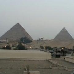Photo taken at Le Méridien Pyramids Hotel & Spa by Kagan E. on 10/7/2012