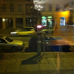 Photo taken at A&O Berlin Mitte by Ada G. on 11/14/2013