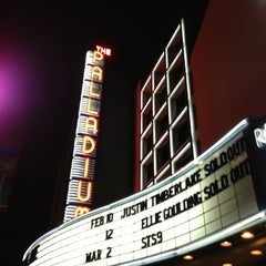 Photo taken at Hollywood Palladium by lilgugu on 2/11/2013