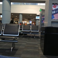 Photo taken at US Departures by Carlos C. on 5/25/2013