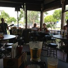 Photo taken at BackStreets Sports Bar by loren g. on 7/21/2013