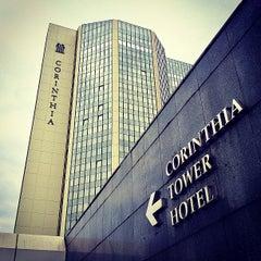 Photo taken at Corinthia Hotel by Anton S. on 9/27/2013
