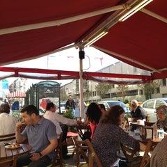 Photo taken at Tarihi Sarıyer Börekçisi by Emine Yeşim A. on 10/18/2012