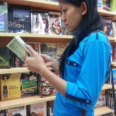 Photo taken at Gramedia by oppa r. on 11/14/2013