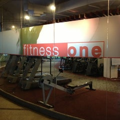 Photo taken at One Fitness by Apple A. on 10/3/2012