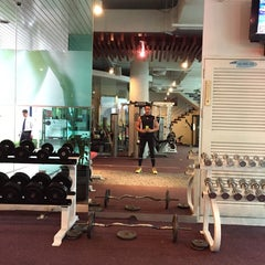 Photo taken at One Fitness by Apple A. on 7/17/2015