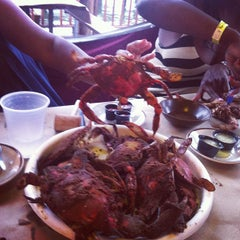Photo taken at Mike's Crabhouse by Khaalis C. on 7/22/2013