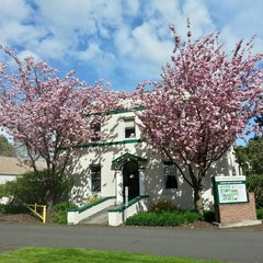 Photo taken at Multnomah University by Weston R. on 4/15/2013