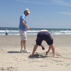 Photo taken at 44th street beach by Stephen on 5/18/2014