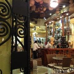 Photo taken at San Agustín. Chocolate y Churros by Martin A. on 2/15/2013