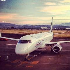 Photo taken at Aeropuerto Internacional de Guanajuato (BJX) by Victor M. on 11/21/2012