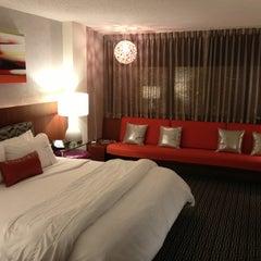 Photo taken at Hotel Derek by James C. on 3/29/2013